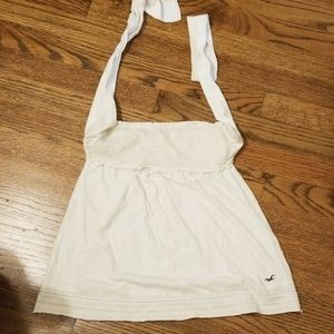 Hollister top in white